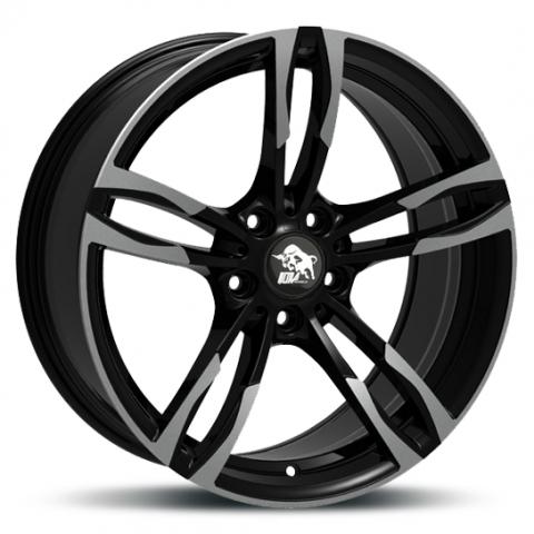 Ultra Wheels UA11 Boost gunmetal Frontpoliert