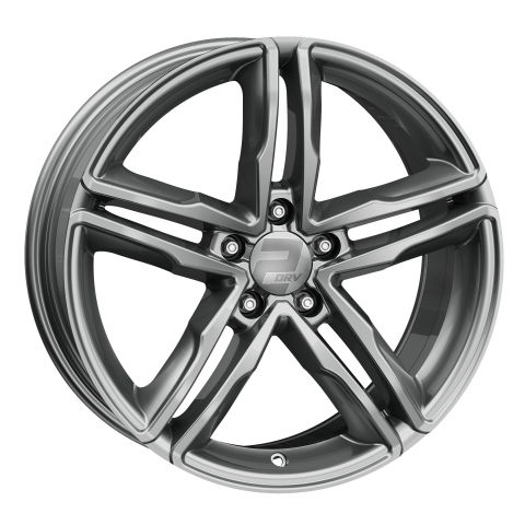 2DRV by Wheelworld WH11 Daytonagrau glänzend