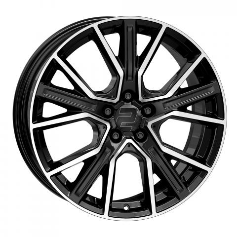 Wheelworld WH34 schwarz Hochglanzpoliert
